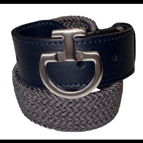 Cavalleria Toscana Women's Elastic Belt CT Clasp Grå/Navy