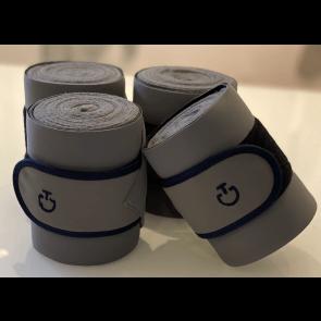 Cavalleria Toscana 4-pak Jersey & Fleece Bandages Grå/Navy