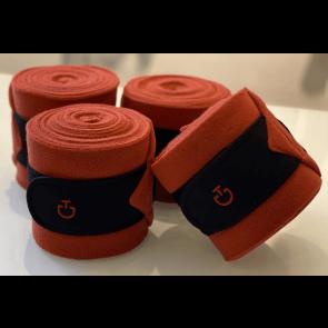 Cavalleria Toscana 4-pak Tech Bandages Orange/sort
