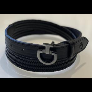Cavalleria Toscana Elastic Leather Belt Sort