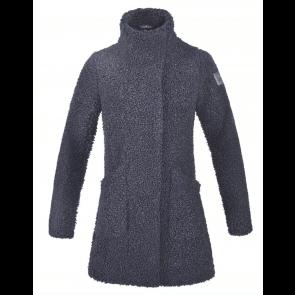 Kingsland Deena Ladies Shepard Fleece Coat Black