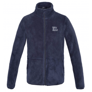 Kingsland Dane Coral Fleece Jacket JR Navy