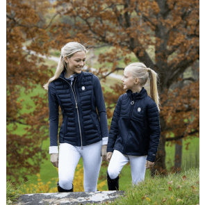 Kingsland Dakota Padded Fleece Jacket Navy JR