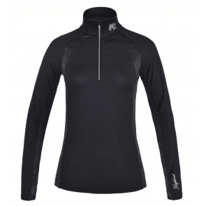 Kingsland daniella ladies 1/2 zip training shirt sort