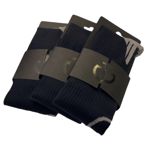 Cavalleria Toscana Wool Sock Navy/grå
