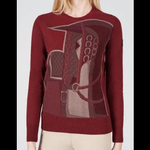 Vestrum Garda Knitwear Bordeaux