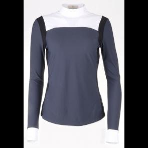 Vestrum Recanati Langærmet Shirt Mørkegrå