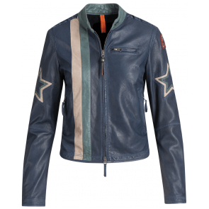 Parajumpers Biker Leather Interstellar Jacket