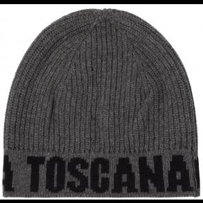Cavalleria Toscana Wool Cap Dark Grey