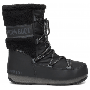 Moon Boot Monaco Wool Mid WP Black