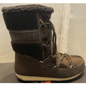 Moon Boot Monaco Wool Mid WP Brown
