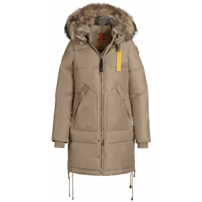 Parajumpers Long Bear Woman Jacket Cappuccino