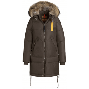 Parajumpers Long Bear Woman Jacket Bark