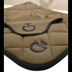 Cavalleria Toscana Jersey Quiltet Rhombi Springunderlag Army/navy
