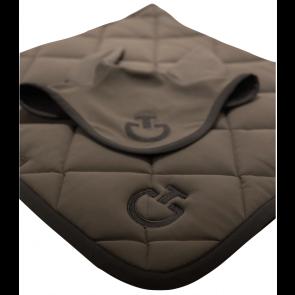 Cavalleria Toscana Jersey Quiltet Rhombi Springunderlag Grå/sort
