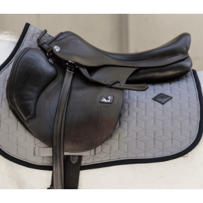 Kentucky Softshell Jumping Saddle Pad Grey