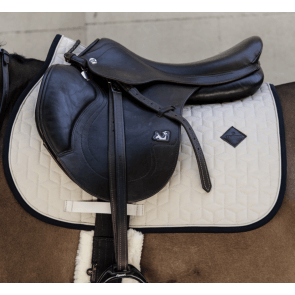 Kentucky Softshell Jumping Saddle Pad Beige