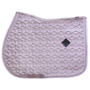 Kentucky Velvet Jumping Saddle Pad Old Rose