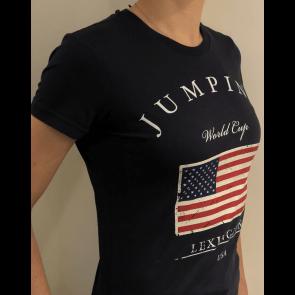 Eqvitatvs T-shirt Jumping Navy