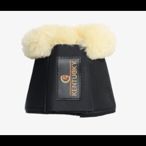 Kentucky læderklokke med kunstig fåreskindsforing(Lys)