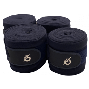 Cavalleria Toscana 4-pak Team Fleece Bandages Navy