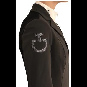 Cavalleria Toscana Tech Knit Zip Riding Jacket Grå