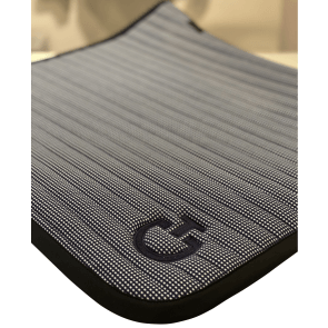 Cavalleria Toscana Quilted Row Jersey Dressurunderlag Ternet navy