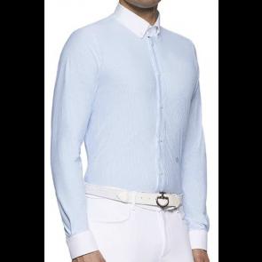 Cavalleria Toscana Guibert Shirt L/S Herre Blåstribet