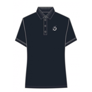 Cavalleria Toscana Team S/S Training Polo Herre Navy