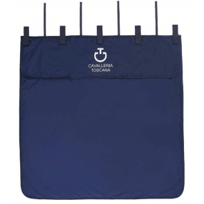 Cavalleria Toscana Water Resistant Stable Curtain Navy