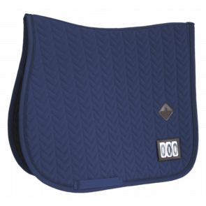 Kentucky Saddle Pad Fishbone Competition Show Jumping Navy