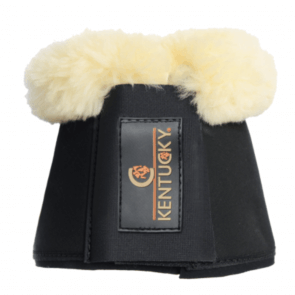 Kentucky Sheepskin Overreach Boots Solimbra Black