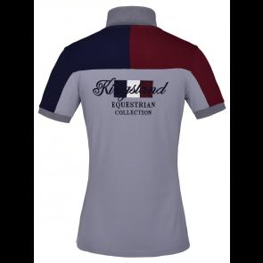 Kingsland Janey Ladies Tec Pique Polo Shirt Grå