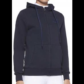 Cavalleria Toscana Team Zip Sweatshirt Navy