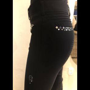 Samshield Ridebukser Diane Diamond Fullgrip Black