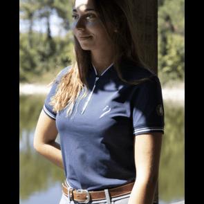 Antares La Baule Woman Polo Navy