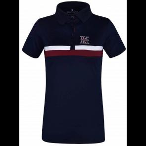 Kingsland Lukina Ladies Tec Micro Pique Polo Navy Blazer