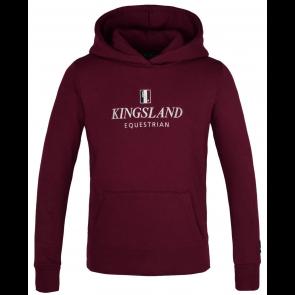 Kingsland Classic Hoodie Bordeaux JR