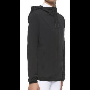 Cavalleria Toscana Waterproof Hooded Jacket Sort JR