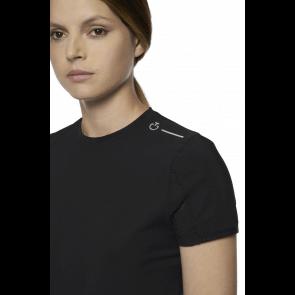 Cavalleria Toscana R-EVO Tech Knit T-shirt Sort