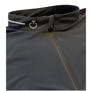 Cavalleria Toscana R-EVO Tech Knit L/S Training Polo Mørkegrå