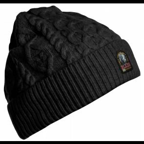 Parajumpers Aran Hat Black