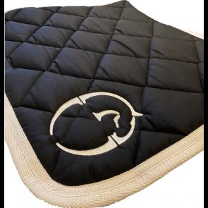 Vestrum Jumping Saddle Pad Bonn Black/Beige