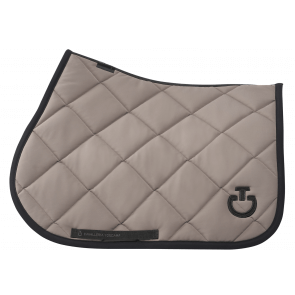 Cavalleria Toscana Diamond Quilted Jersey Jumping saddle Pad Mud