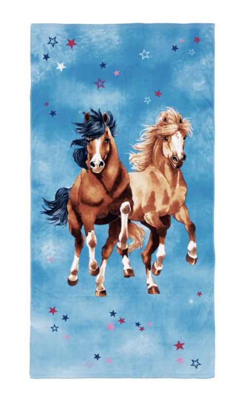 Håndklæde med heste