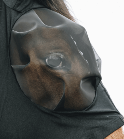 Kentucky Fly Mask Slim Fit Sort