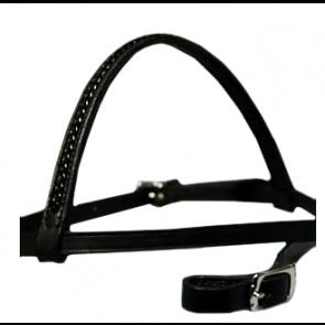 Top Reiter hovedtøj med sort flet