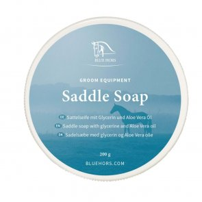 Blue hors saddle soap 200g