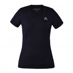 Kingsland Isla Ladies V-neck Training shirt Navy