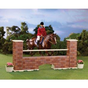 Breyer Brick Wall Jump